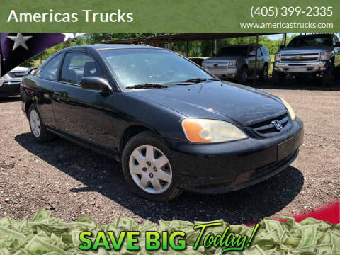 2002 Honda Civic for sale at Americas Trucks in Jones OK