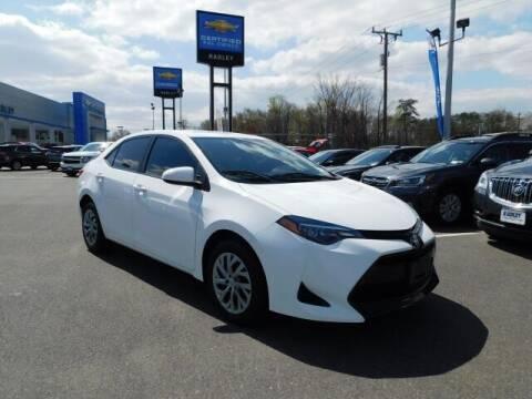 2018 Toyota Corolla for sale at Radley Cadillac in Fredericksburg VA