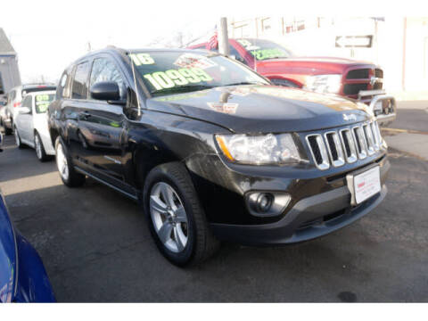 2016 Jeep Compass for sale at M & R Auto Sales INC. in North Plainfield NJ