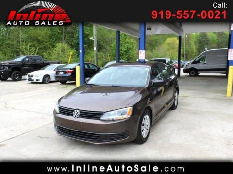 2012 Volkswagen Jetta for sale at Inline Auto Sales in Fuquay Varina NC
