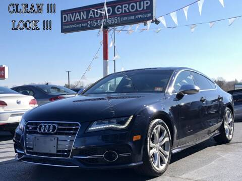 2013 Audi S7 for sale at Divan Auto Group in Feasterville PA