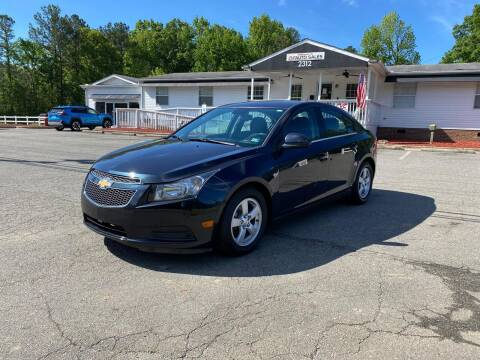 2014 Chevrolet Cruze for sale at CVC AUTO SALES in Durham NC