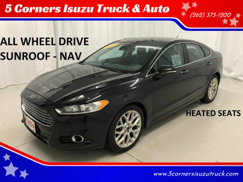 2013 Ford Fusion for sale at 5 Corners Isuzu Truck & Auto in Cedarburg WI