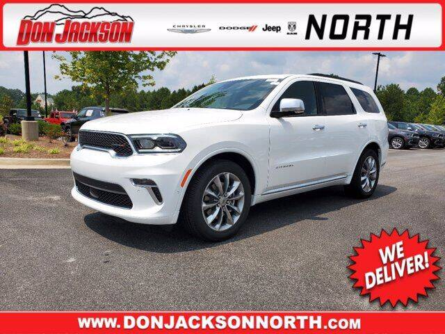 2021 Dodge Durango for sale in Cumming, GA
