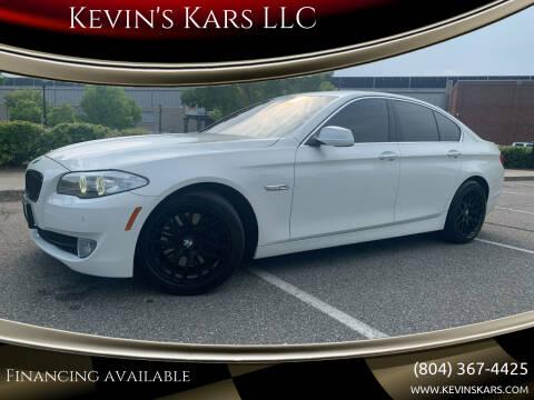 2011 BMW 5 Series for sale at Kevin's Kars LLC in Richmond VA