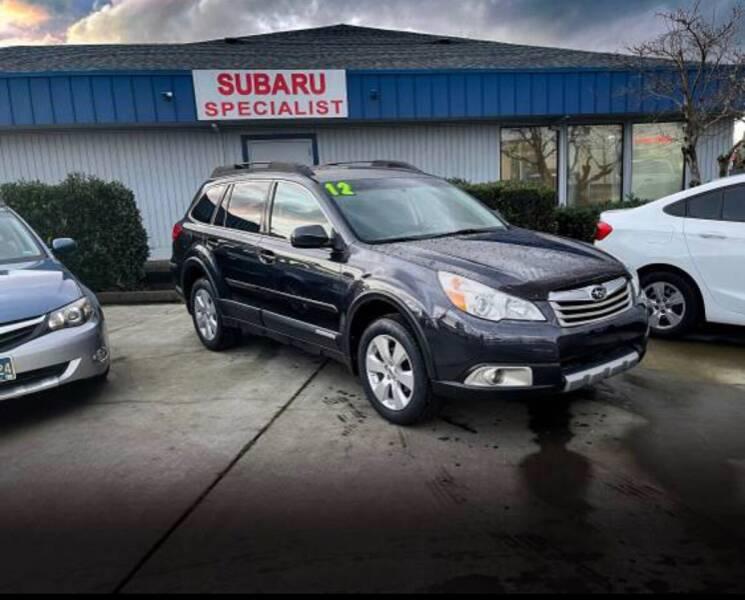 2012 Subaru Outback for sale at Accolade Auto in Hillsboro OR