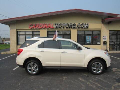 2014 Chevrolet Equinox for sale at Cardinal Motors in Fairfield OH