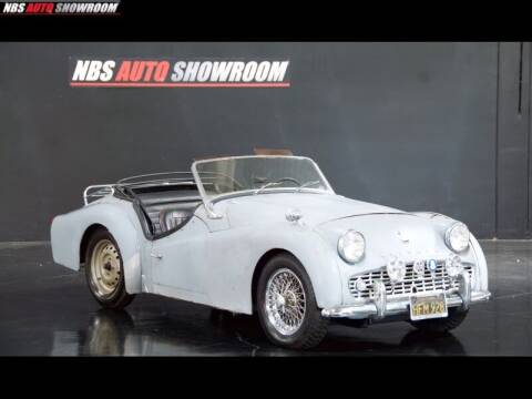 1959 Triumph TR3A for sale at NBS Auto Showroom in Milpitas CA