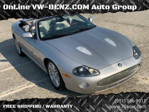 2005 Jaguar XKR for sale at OnLine VW-BENZ.COM Auto Group in Riverside CA