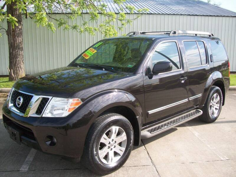 2011 Nissan Pathfinder for sale at Cliff Bland & Sons Used Cars in El Dorado Spg MO