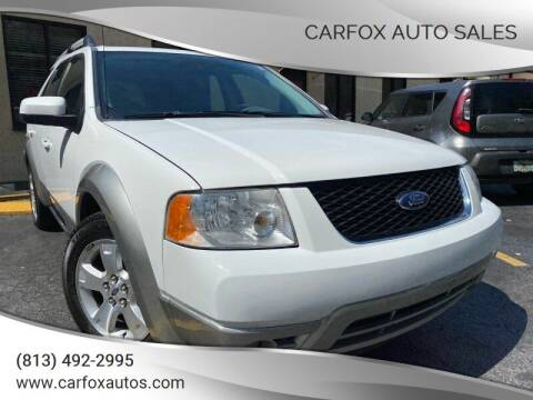 2006 Ford Freestyle for sale at Carfox Auto Sales in Tampa FL