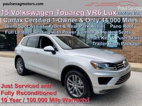 2015 Volkswagen Touareg for sale at Paul Sevag Motors Inc in West Chester PA