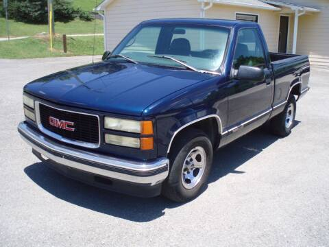 1998 GMC Sierra 1500 for sale at Worthington Motor Co, Inc in Clinton TN