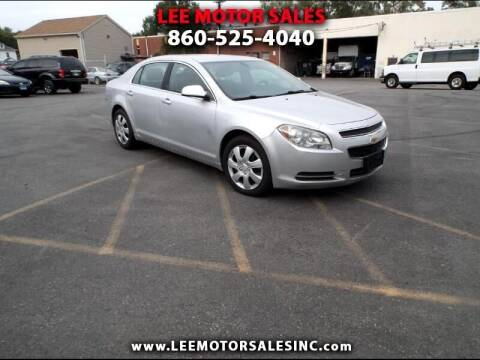 2010 Chevrolet Malibu for sale at Lee Motor Sales Inc. in Hartford CT