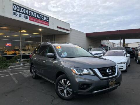 2017 Nissan Pathfinder for sale at Golden State Auto Inc. in Rancho Cordova CA