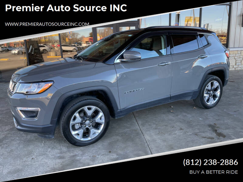 2019 Jeep Compass for sale at Premier Auto Source INC in Terre Haute IN