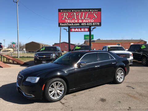 2017 Chrysler 300 for sale at RAUL'S TRUCK & AUTO SALES, INC in Oklahoma City OK