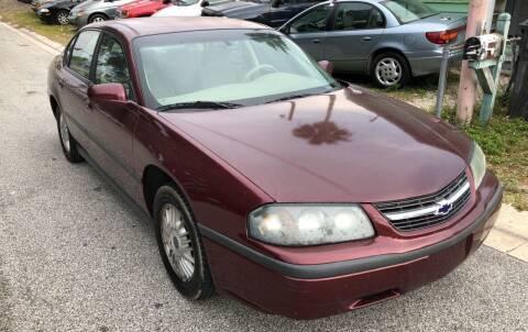 2002 Chevrolet Impala for sale at Castagna Auto Sales LLC in Saint Augustine FL