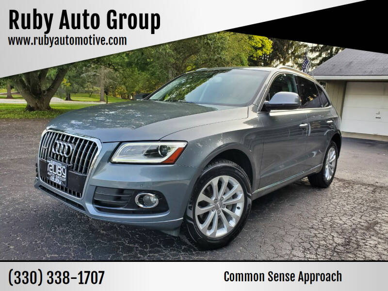2015 Audi Q5 for sale at Ruby Auto Group in Hudson OH