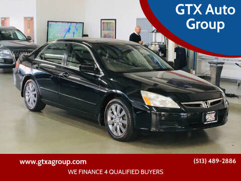 2007 Honda Accord for sale at GTX Auto Group in West Chester OH