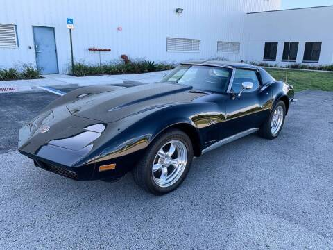 1973 Chevrolet Corvette for sale at TOP TWO USA INC in Oakland Park FL