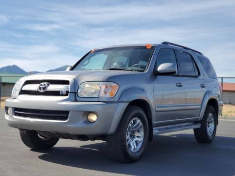 2005 Toyota Sequoia for sale at FRESH TREAD AUTO LLC in Springville UT
