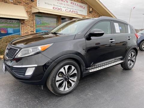 2013 Kia Sportage for sale at Browning's Reliable Cars & Trucks in Wichita Falls TX