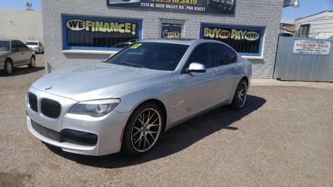 2012 BMW 7 Series for sale at Advantage Motorsports Plus in Phoenix AZ