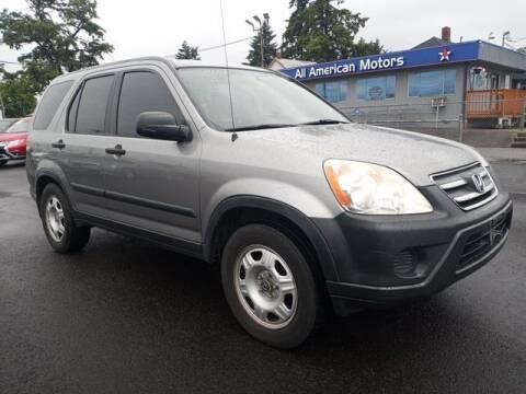 2006 Honda CR-V for sale at All American Motors in Tacoma WA