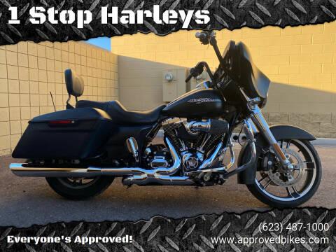 2016 HarleyDavidson  StreetGlide for sale at 1 Stop Harleys in Peoria AZ