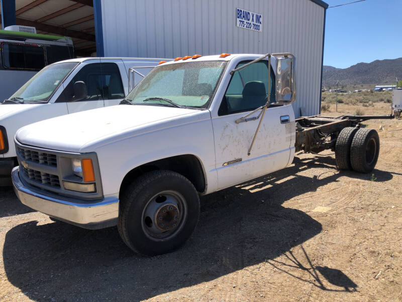 1997 Chevrolet C/K 3500 Series for sale at Brand X Inc. in Mound House NV