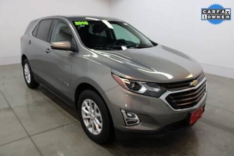 2018 Chevrolet Equinox for sale at Bob Clapper Automotive, Inc in Janesville WI