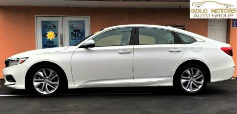 2020 Honda Accord for sale at Gold Motors Auto Group Inc in Tampa FL