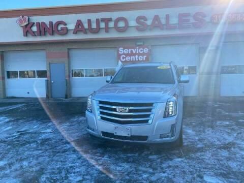 2016 Cadillac Escalade ESV for sale at KING AUTO SALES  II in Detroit MI
