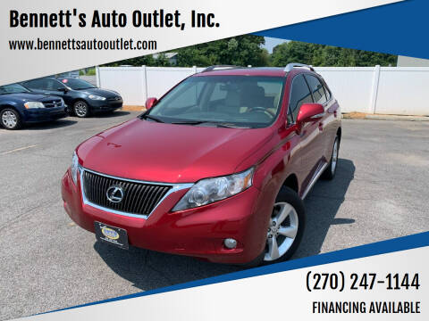 2011 Lexus RX 350 for sale at Bennett's Auto Outlet, Inc. in Mayfield KY