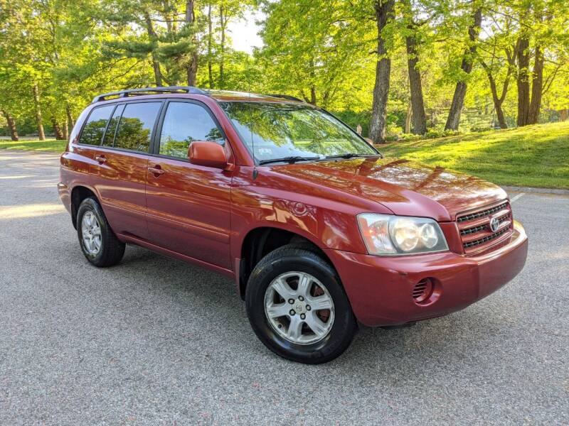 2001 Toyota Highlander for sale at The Auto Brokerage Inc in Walpole MA