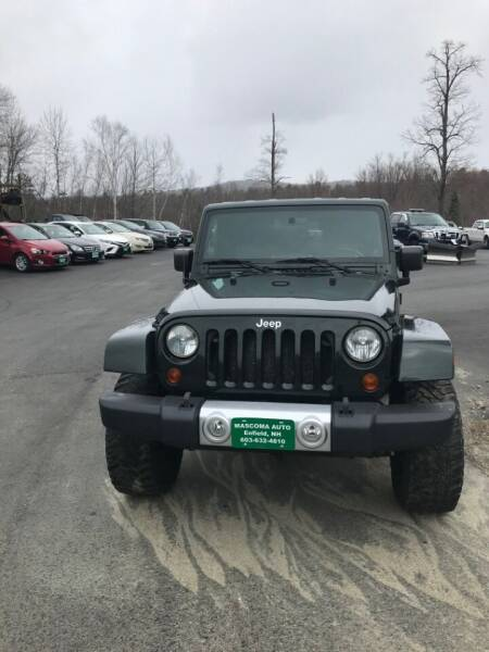 2010 Jeep Wrangler for sale at Mascoma Auto INC in Canaan NH