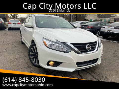 2016 Nissan Altima for sale at Cap City Motors LLC in Columbus OH