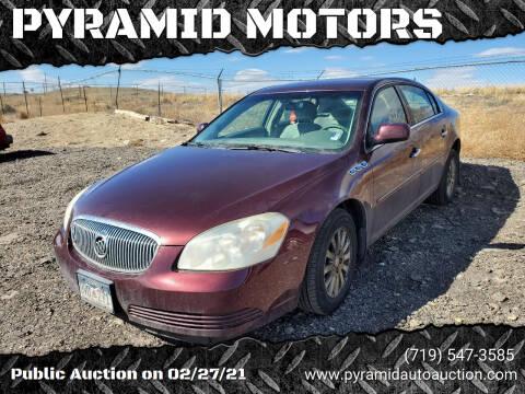 2006 Buick Lucerne for sale at PYRAMID MOTORS - Pueblo Lot in Pueblo CO