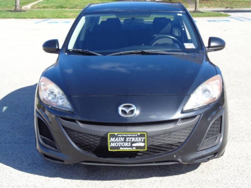 2011 Mazda MAZDA3 for sale at MAIN STREET MOTORS in Norristown PA