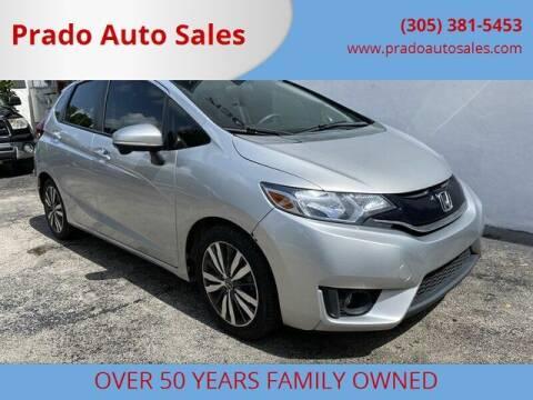 2015 Honda Fit for sale at Prado Auto Sales in Miami FL