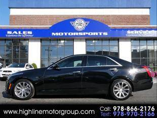 2016 Cadillac CTS for sale at Highline Group Motorsports in Lowell MA