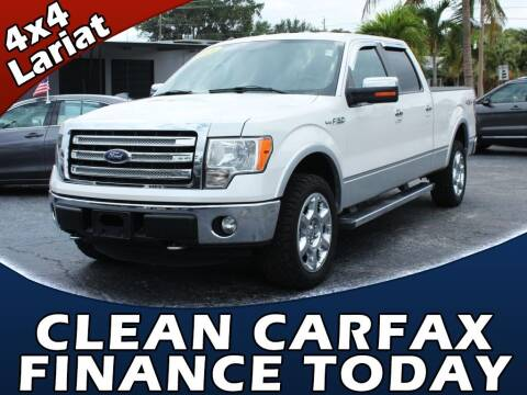 2014 Ford F-150 for sale at Palm Beach Auto Wholesale in Lake Park FL