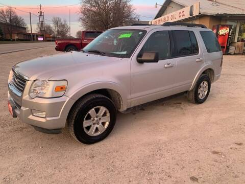 2010 Ford Explorer for sale at GREENFIELD AUTO SALES in Greenfield IA