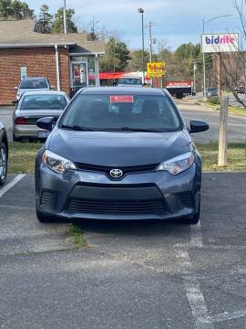 2018 Toyota Corolla for sale at Assistive Automotive Center in Durham NC
