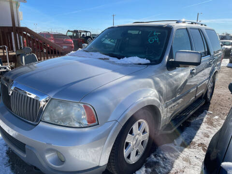 2004 Lincoln Navigator for sale at PYRAMID MOTORS - Fountain Lot in Fountain CO