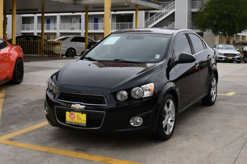 2014 Chevrolet Sonic for sale at Houston Used Auto Sales in Houston TX