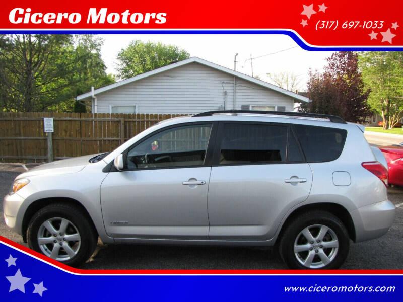 2007 Toyota RAV4 for sale at Cicero Motors in Cicero IN