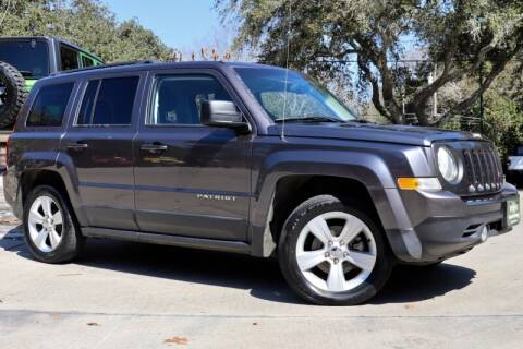 2015 Jeep Patriot for sale at SELECT JEEPS INC in League City TX