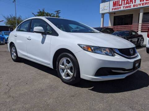 2013 Honda Civic for sale at Convoy Motors LLC in National City CA